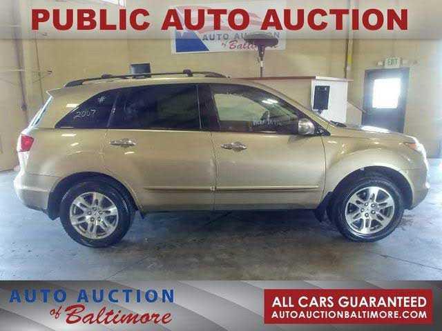 Acura MDX 2007 $4300.00 incacar.com