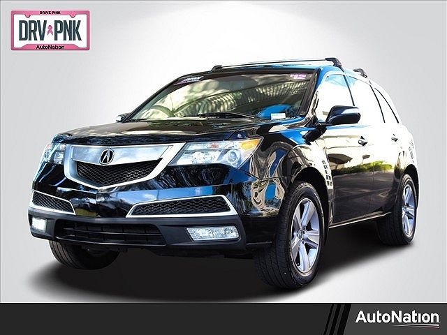 used Acura MDX 2012 vin: 2HNYD2H26CH550399