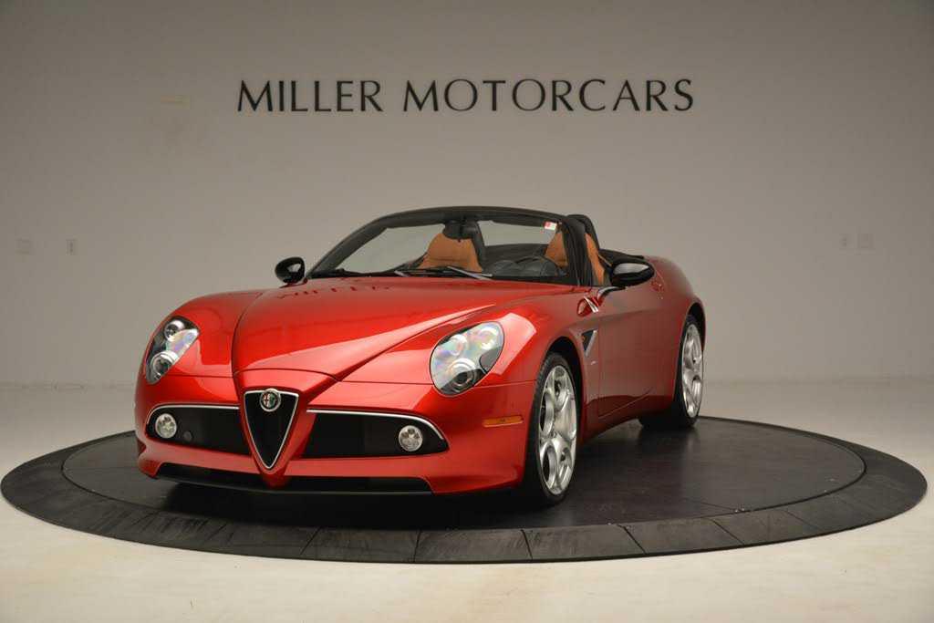 Alfa Romeo 8C 2009 $399900.00 incacar.com