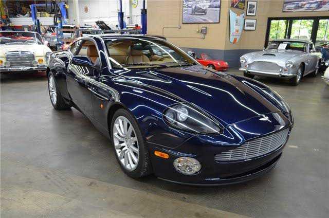 Aston Martin Vanquish 2004 $114500.00 incacar.com