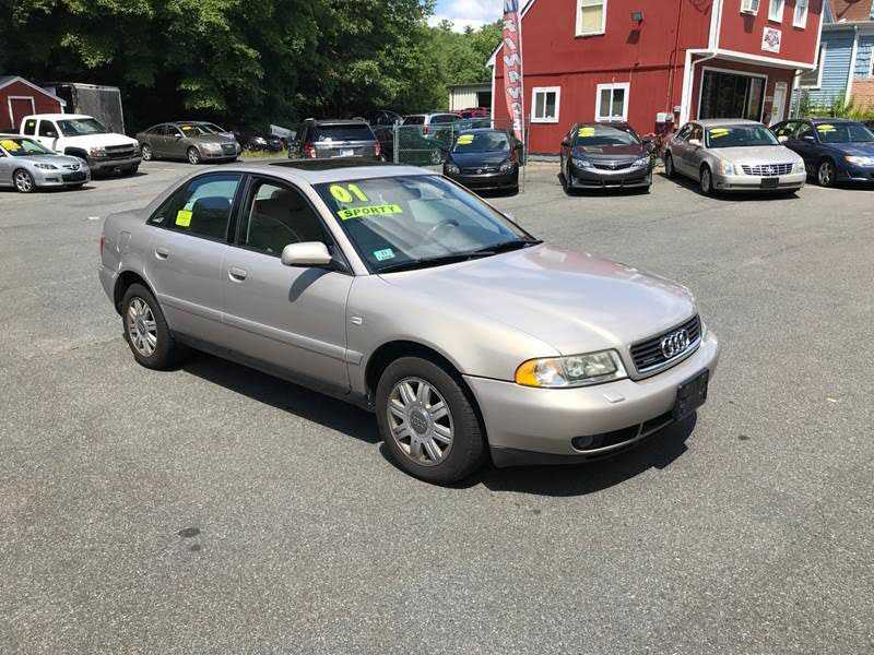 used Audi A4 2001 vin: WAUDC68D11A003260