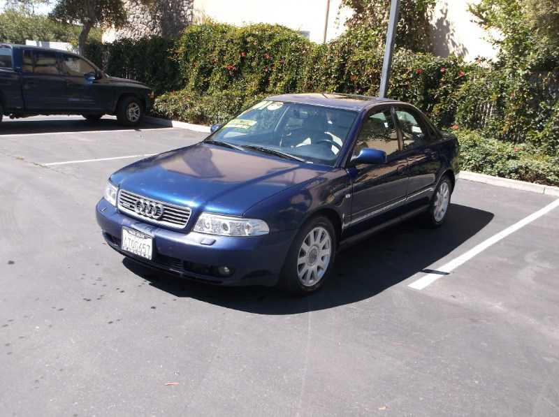 used Audi A4 2001 vin: WAUDC68D81A103940