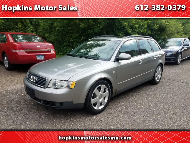 Audi A4 2003 $3595.00 incacar.com