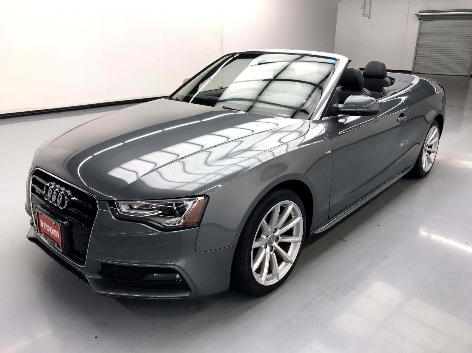 used Audi A5 2016 vin: WAUD2AFH4GN001466