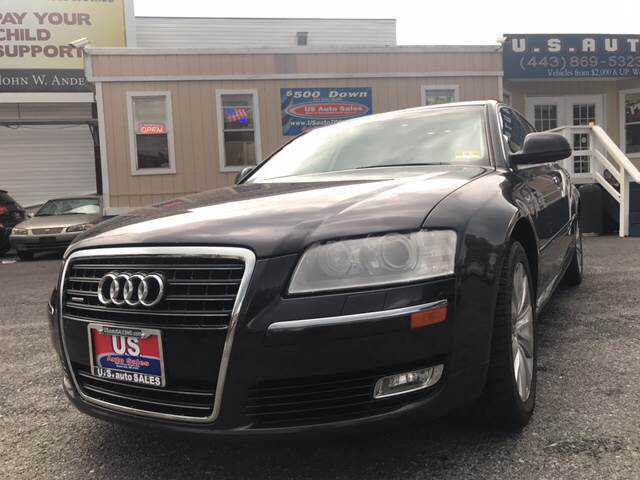 used Audi A8 2009 vin: WAULV94E19N006086