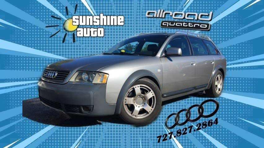 Audi Allroad 2001 $4980.00 incacar.com