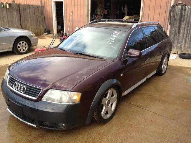 Audi Allroad 2003 $2295.00 incacar.com