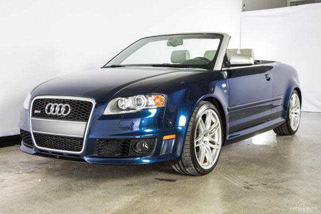 used Audi RS4 2008 vin: WUAYU48H28K800259