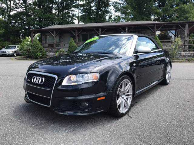 used Audi RS4 2008 vin: WUAYU48H58K800367