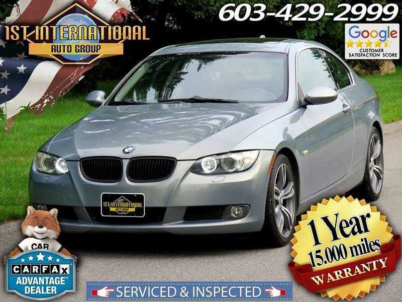 used BMW 3-Series 2007 vin: WBAWC33557PD07336