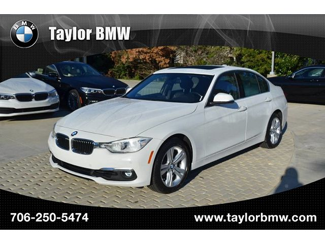 used BMW 3-Series 2016 vin: WBA8E9G50GNT47333