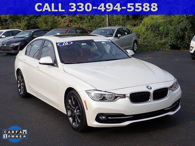 used BMW 3-Series 2016 vin: WBA8B3G56GNT62313