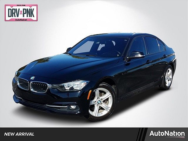 used BMW 3-Series 2016 vin: WBA8E9C59GK645967