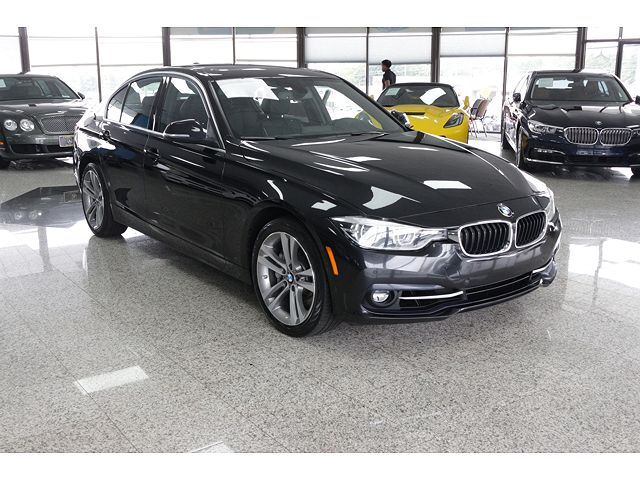 used BMW 3-Series 2016 vin: WBA8B3G53GNT92286