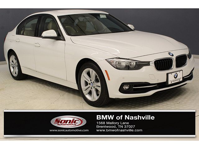 used BMW 3-Series 2016 vin: WBA8E9G51GNT88487