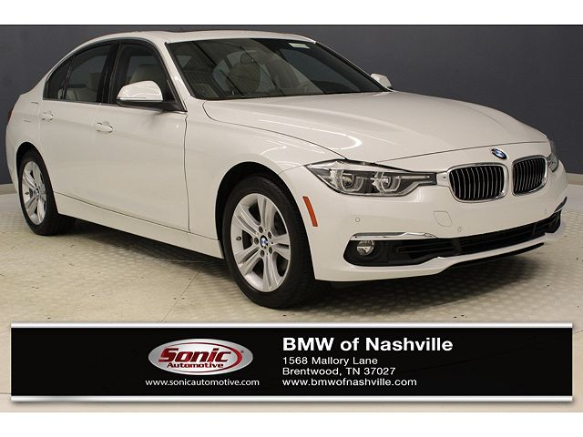 used BMW 3-Series 2016 vin: WBA8E3G52GNU03379