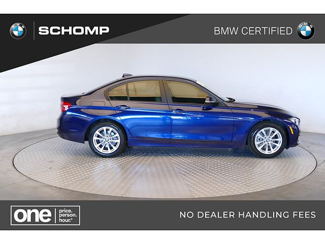used BMW 3-Series 2017 vin: WBA8E5G54HNU41659
