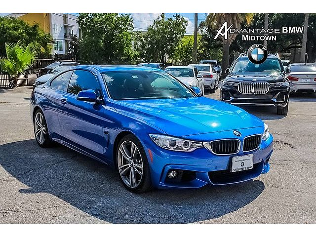 used BMW 4-Series 2017 vin: WBA4P1C54HK522427