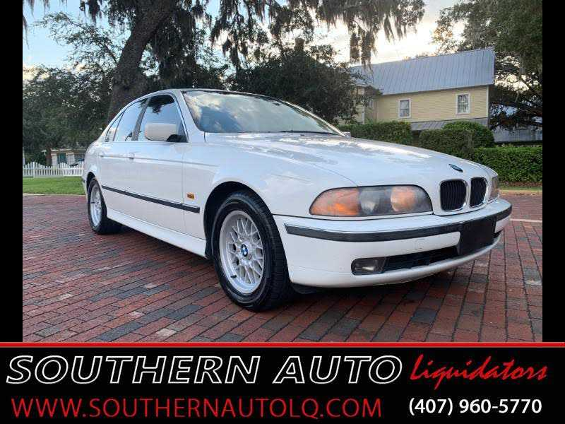 used BMW 5-Series 2000 vin: WBADM6341YGU28327