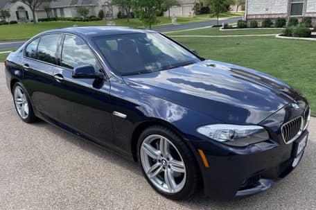 2013 BMW 550i