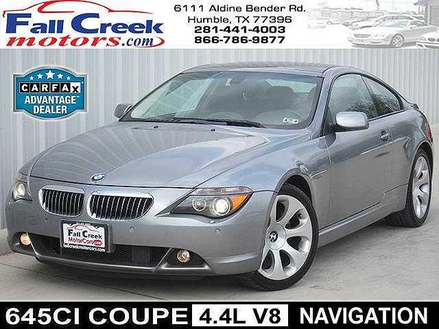 BMW 6-Series 2004 $9980.00 incacar.com