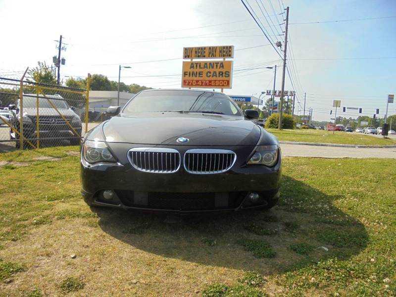 BMW 6-Series 2006 $12990.00 incacar.com
