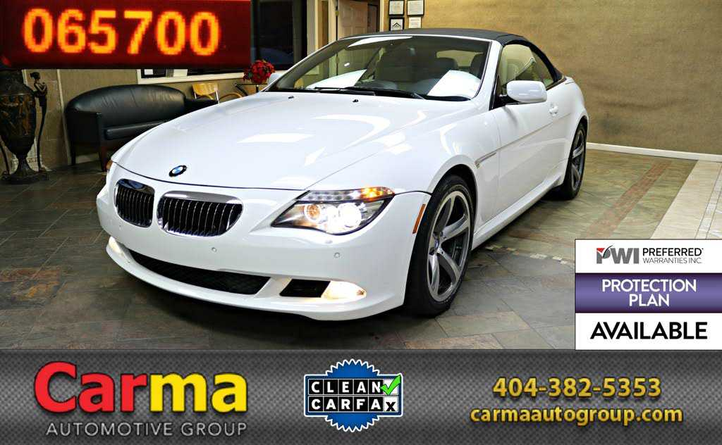 BMW 6-Series 2008 $15555.00 incacar.com