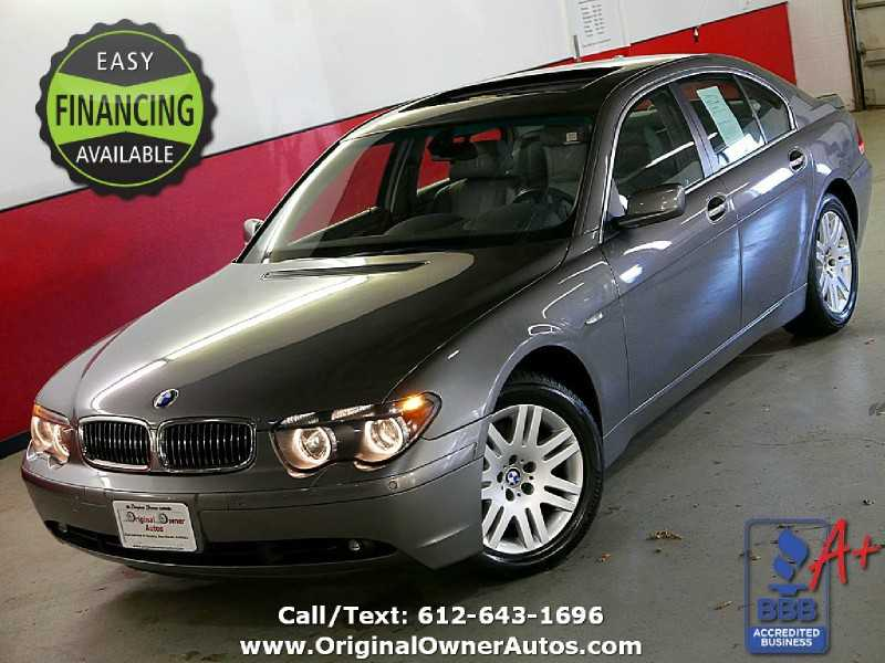 BMW 7-Series 2002 $6500.00 incacar.com