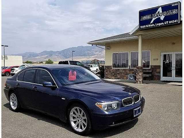 used BMW 7-Series 2002 vin: WBAGL63432DP53182