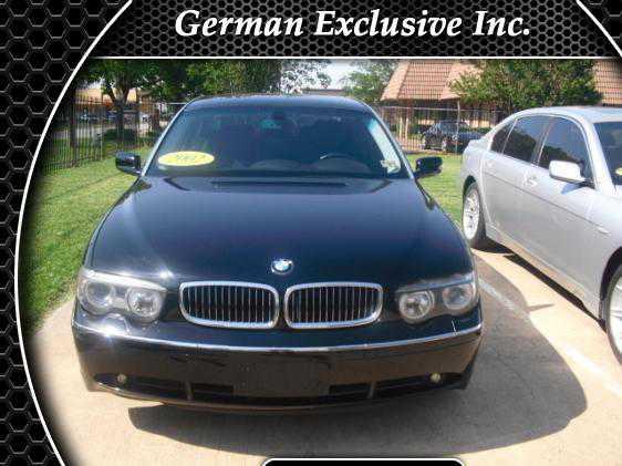 BMW 7-Series 2002 $12999.00 incacar.com