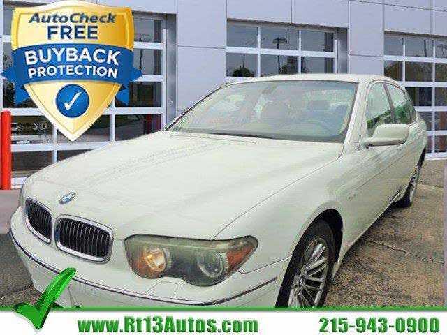 BMW 7-Series 2004 $11950.00 incacar.com