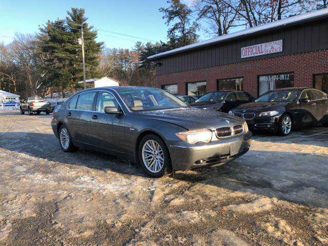 BMW 7-Series 2005 $6950.00 incacar.com