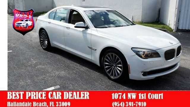 BMW 7-Series 2011 $14999.00 incacar.com