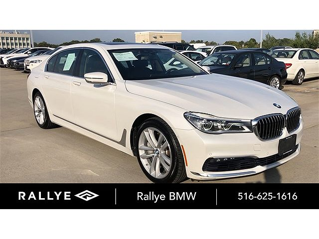 used BMW 7-Series 2016 vin: WBA7F2C51GG419876
