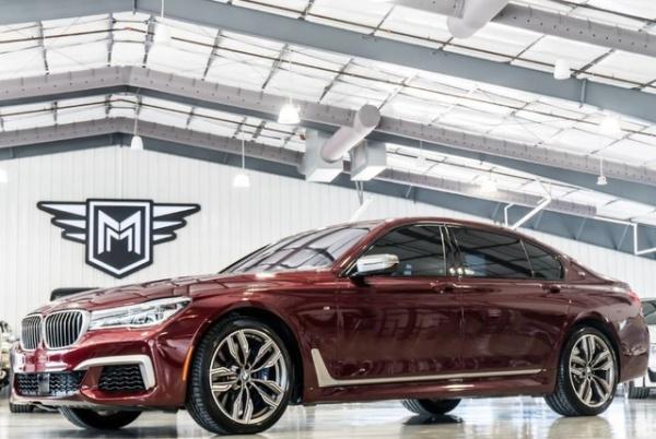 used BMW 7-Series 2018 vin: WBA7H6C55JG614503