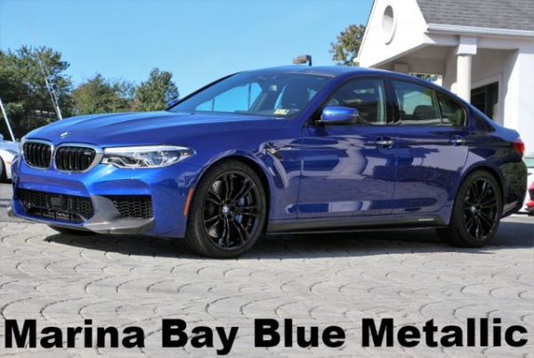 used BMW M5 2018 vin: WBSJF0C51JB282111