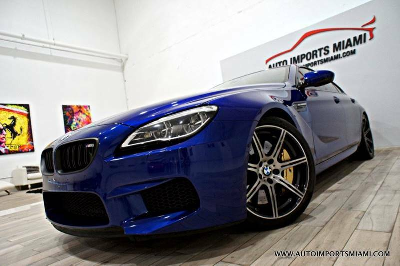 used BMW M6 2016 vin: WBS6E9C50GG437076