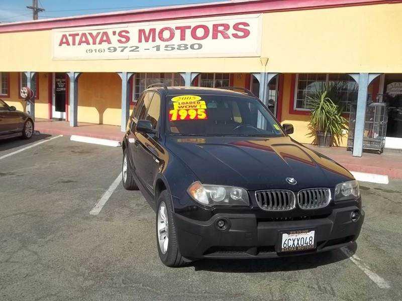 BMW X3 2005 $7999.00 incacar.com