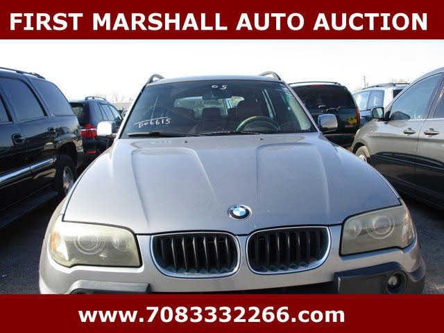 BMW X3 2005 $2900.00 incacar.com