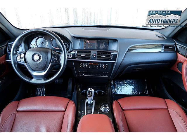 used BMW X3 2012 vin: 5UXWX5C56CL719989