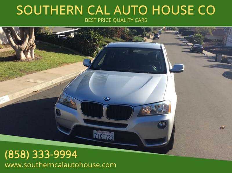 BMW X3 2013 $12277.00 incacar.com