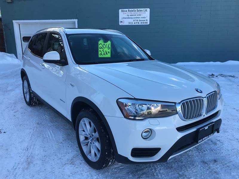 BMW X3 2016 $31900.00 incacar.com