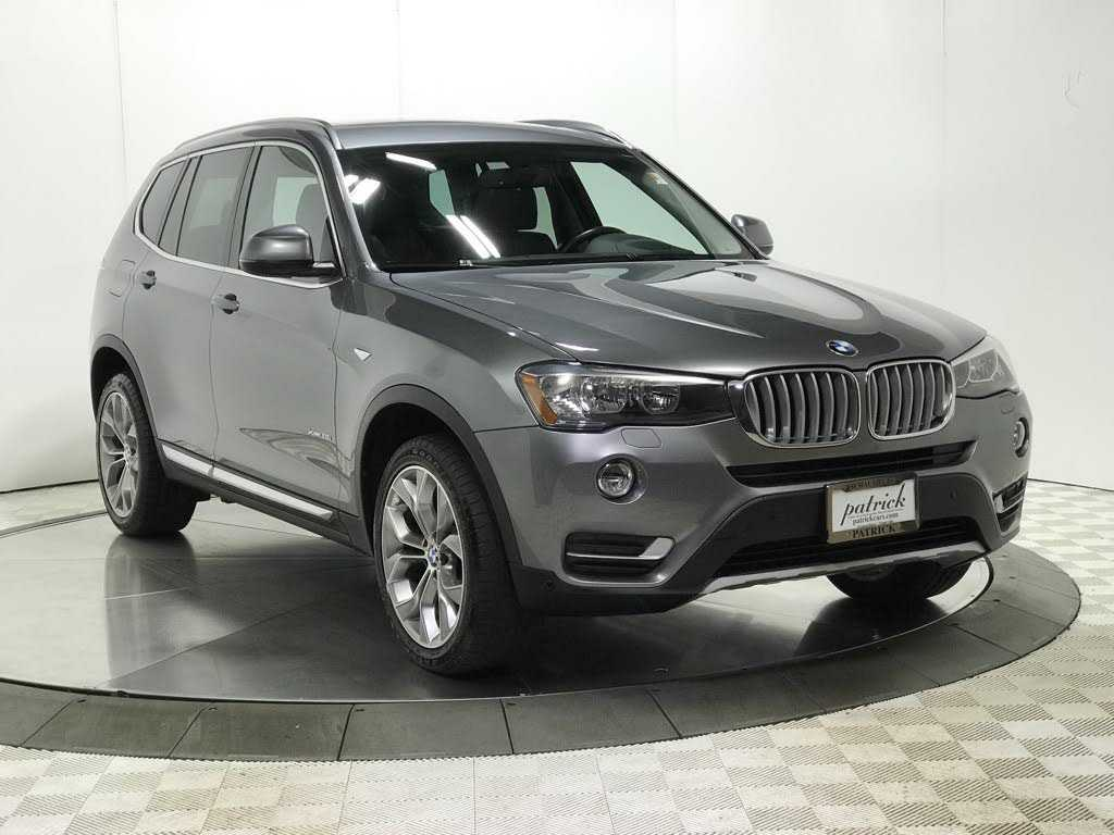 used BMW X3 2017 vin: 5UXWX9C52H0T07116