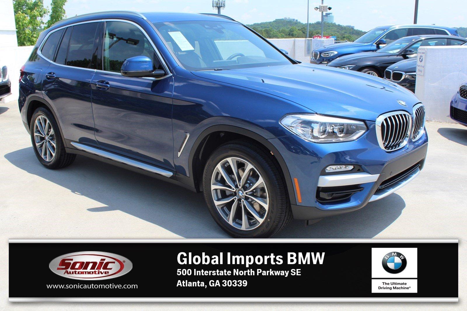 used BMW X3 2019 vin: 5UXTR9C55KLP96789