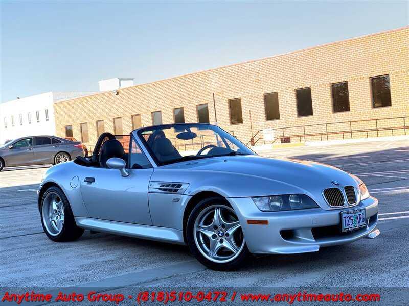 used BMW Z3 M 2000 vin: WBSCK9340YLC92278