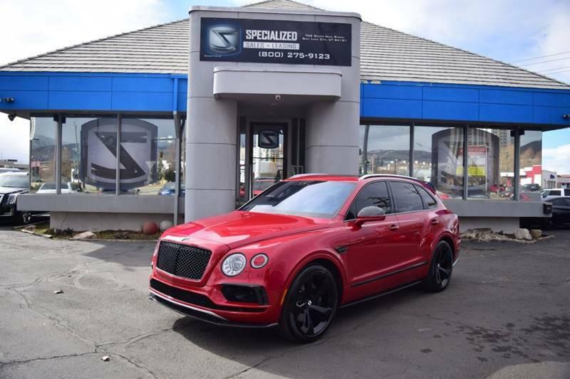 Bentley Bentayga 2018 $205786.00 incacar.com