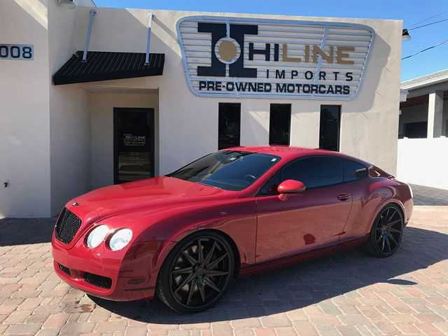 used Bentley Continental 2007 vin: SCBCR73W17C040854