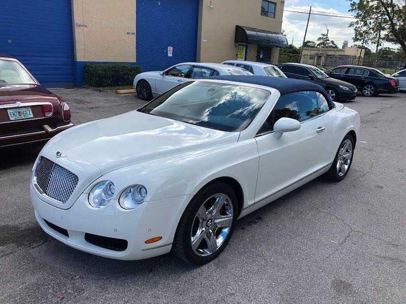 Bentley Continental 2007 $69960.00 incacar.com