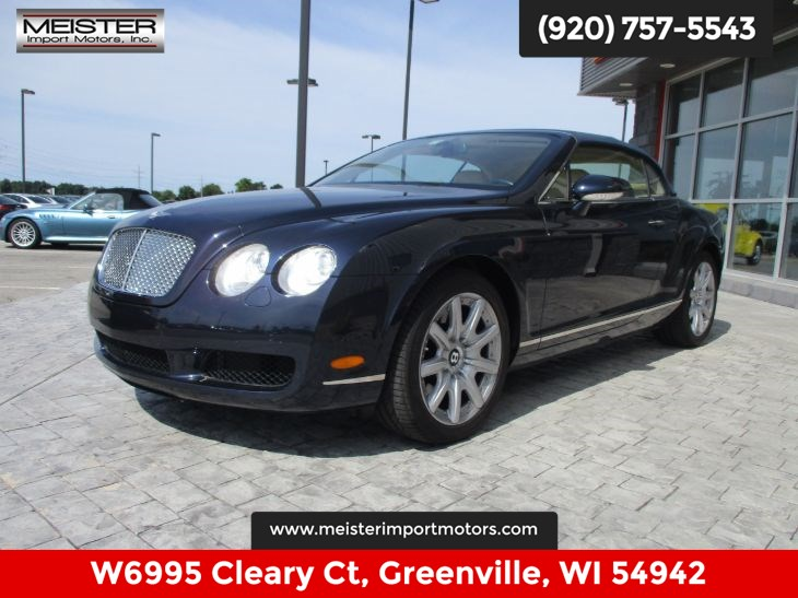 Bentley Continental 2007 $59995.00 incacar.com