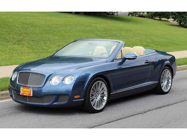 used Bentley Continental 2010 vin: SCBDP3ZA8AC063778